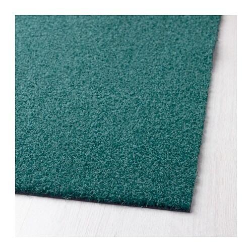 oplev door mat in outdoor turquoise 50x80 cm ikea