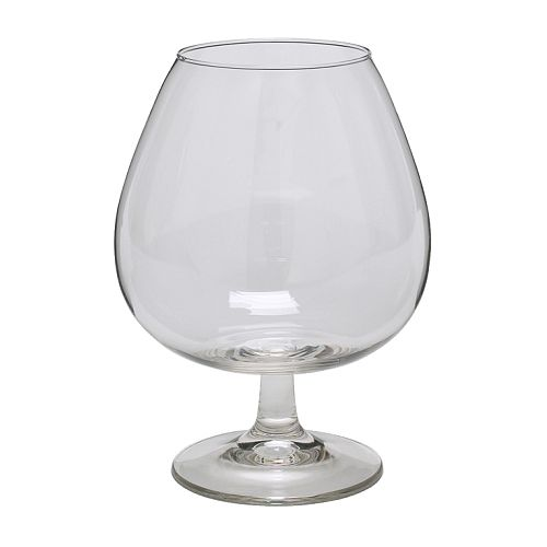 OPTIMAL Brandy bowl IKEA Extra large cup retains the aroma well.