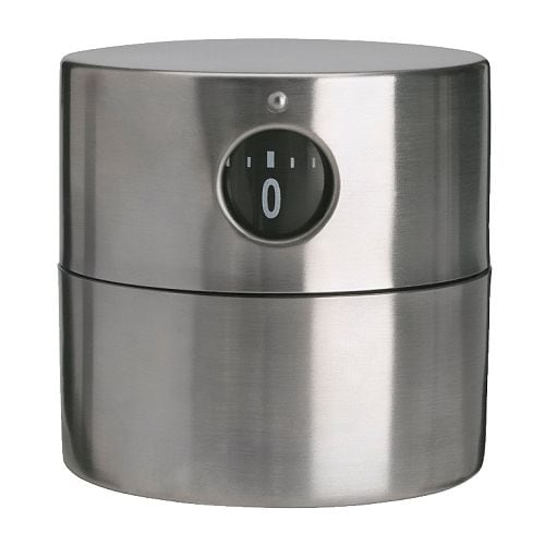 Ordning Timer Stainless Steel Ikea