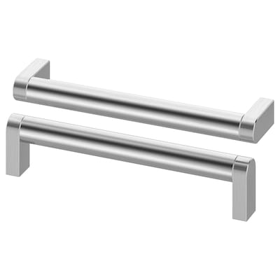 ORRNÄS handle stainless steel colour 170 mm 5 mm 160 mm 35 mm 16 mm 2 pack