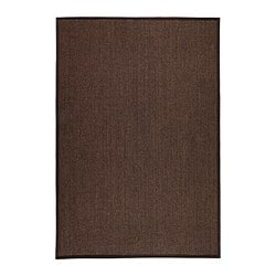 osted rug flatwoven brown 160x230 cm ikea. Black Bedroom Furniture Sets. Home Design Ideas