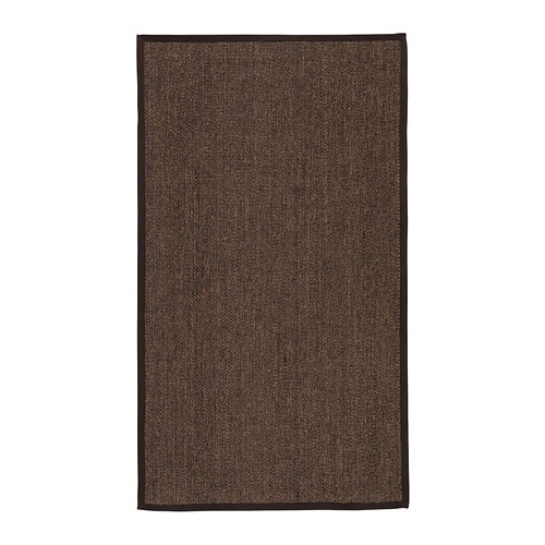 OSTED Rug, flatwoven IKEA The rug is hard-wearing and durable because it's made of sisal, a natural fibre taken from the agave plant.