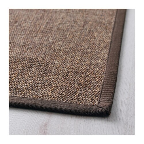 osted rug flatwoven brown 80x140 cm ikea. Black Bedroom Furniture Sets. Home Design Ideas