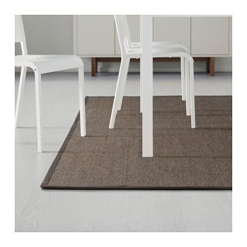 osted rug flatwoven brown 160x230 cm ikea. Black Bedroom Furniture Sets. Home Design Ideas