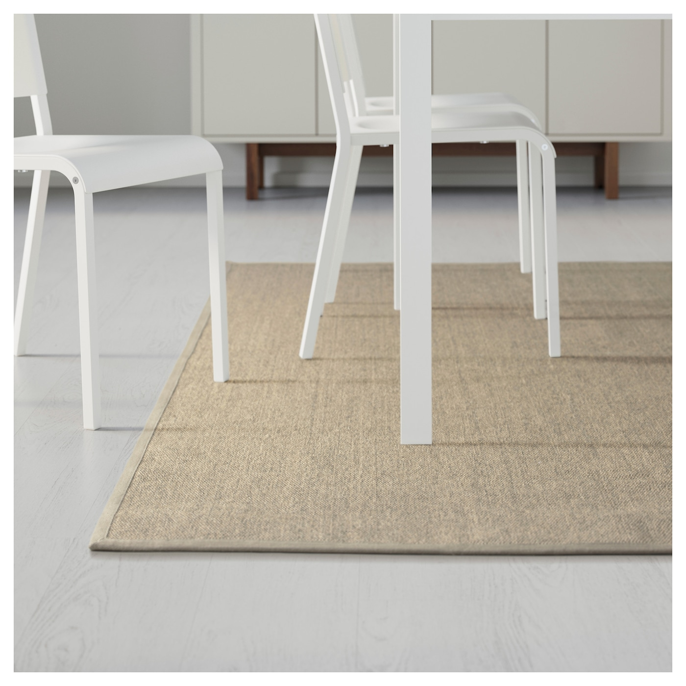 Ikea Osted Rug Flatwoven Polyester Edging Makes The Extra Durable And Strong