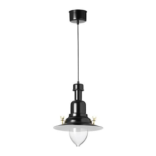 Ottava pendant lamp black ikea ikea ottava pendant lamp each shade of mouth blown glass is unique aloadofball Images
