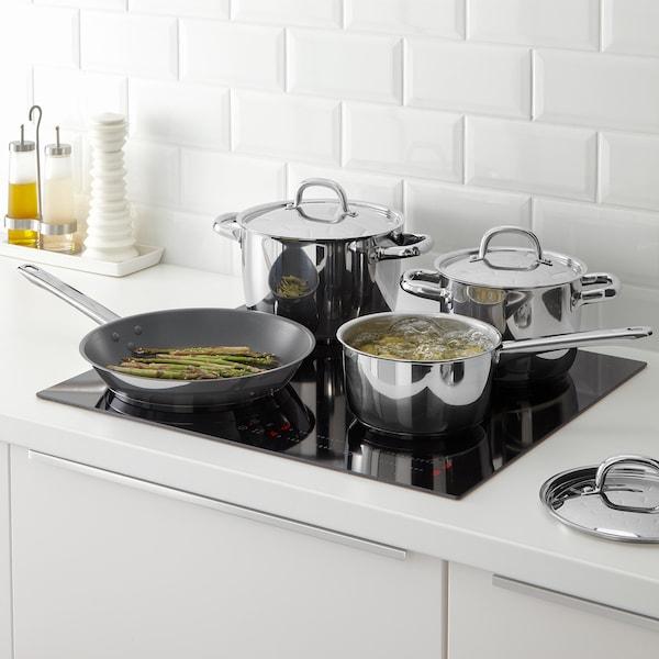 OUMBÄRLIG 7-piece cookware set