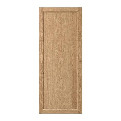 Oxberg door oak veneer 40x97 cm ikea - Ikea billy porte vitree ...