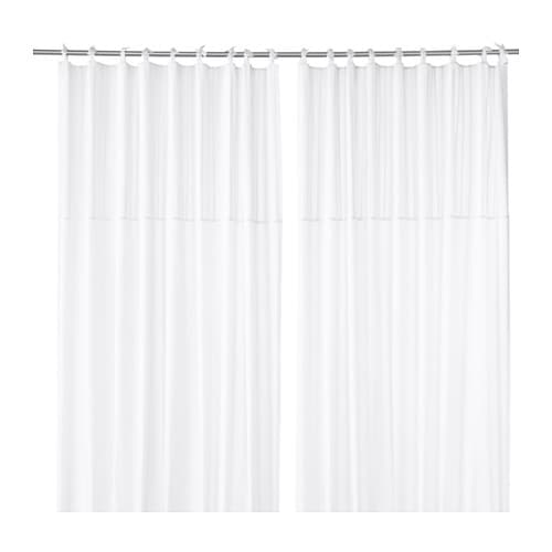 IKEA PÄRLBLAD curtains, 1 pair