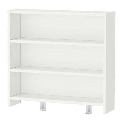 P 197 Hl Desk Top Shelf White Green 64x60 Cm Ikea