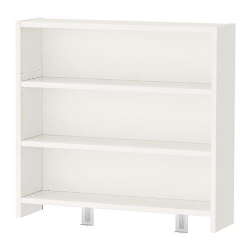 P 197 Hl Desk Top Shelf White Green 64x60 Cm Ikea