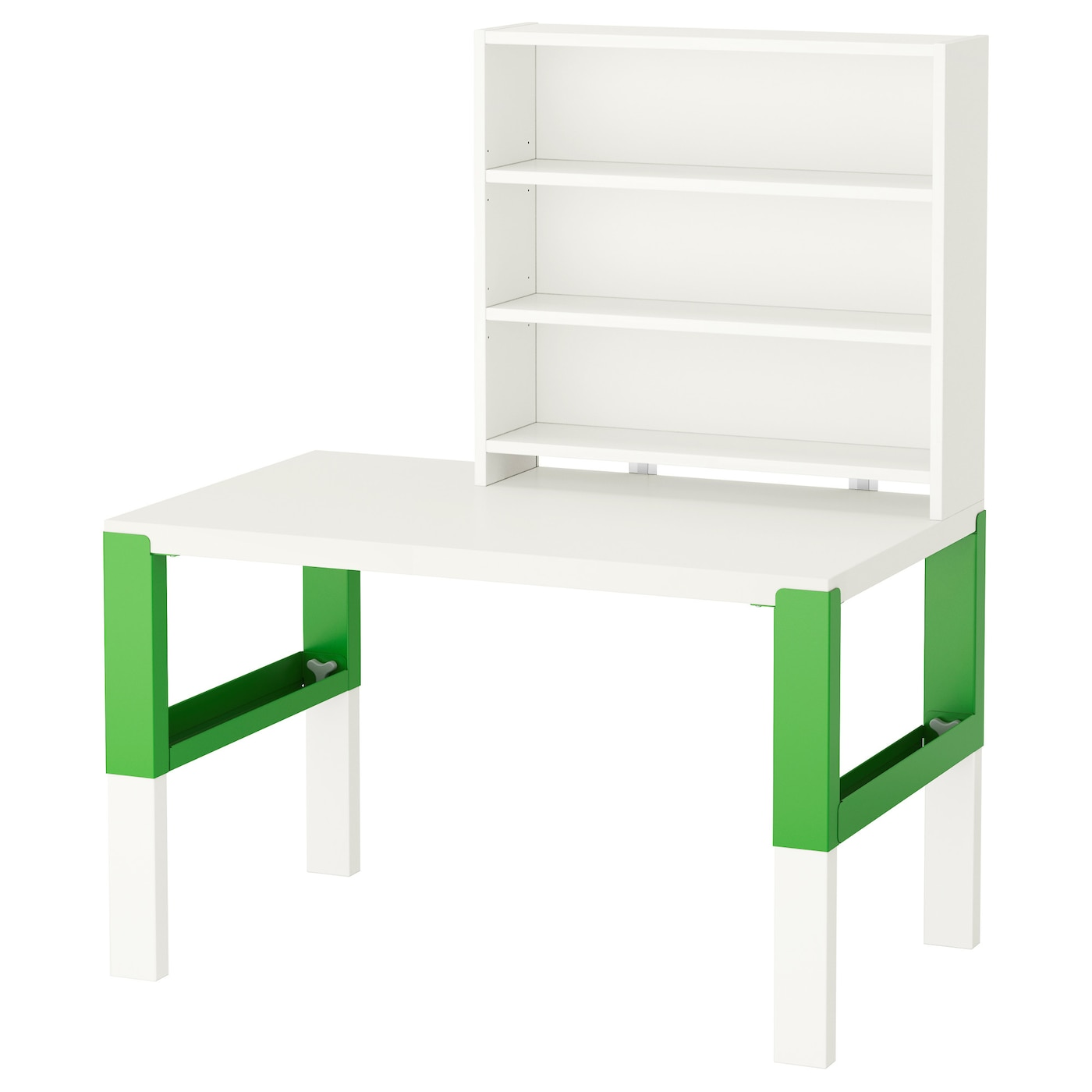 p hl desk with shelf unit white green 96 x 58 cm ikea. Black Bedroom Furniture Sets. Home Design Ideas