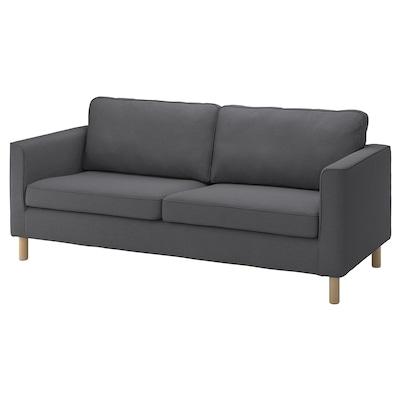 PÄRUP 3-seat sofa, Vissle grey
