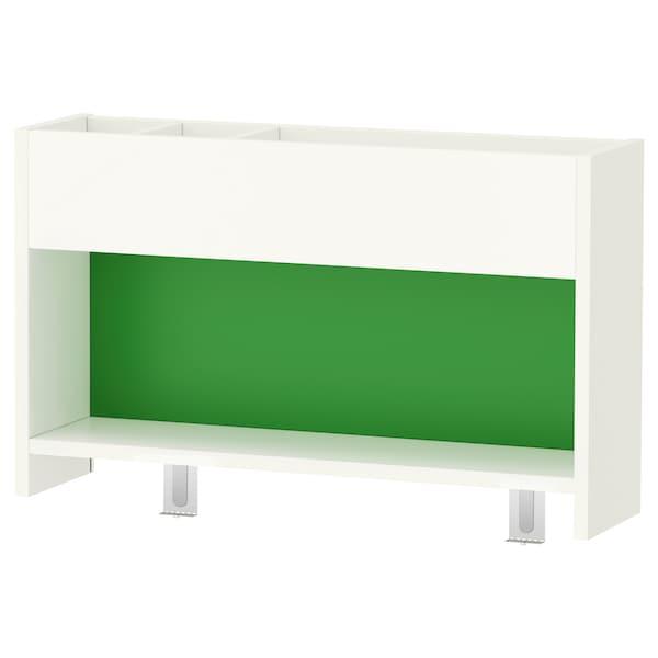 PÅHL Add-on unit, white/green, 64x39 cm