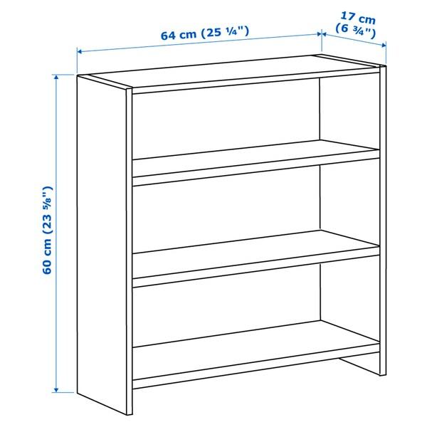 PÅHL Desk top shelf, white/green, 64x60 cm