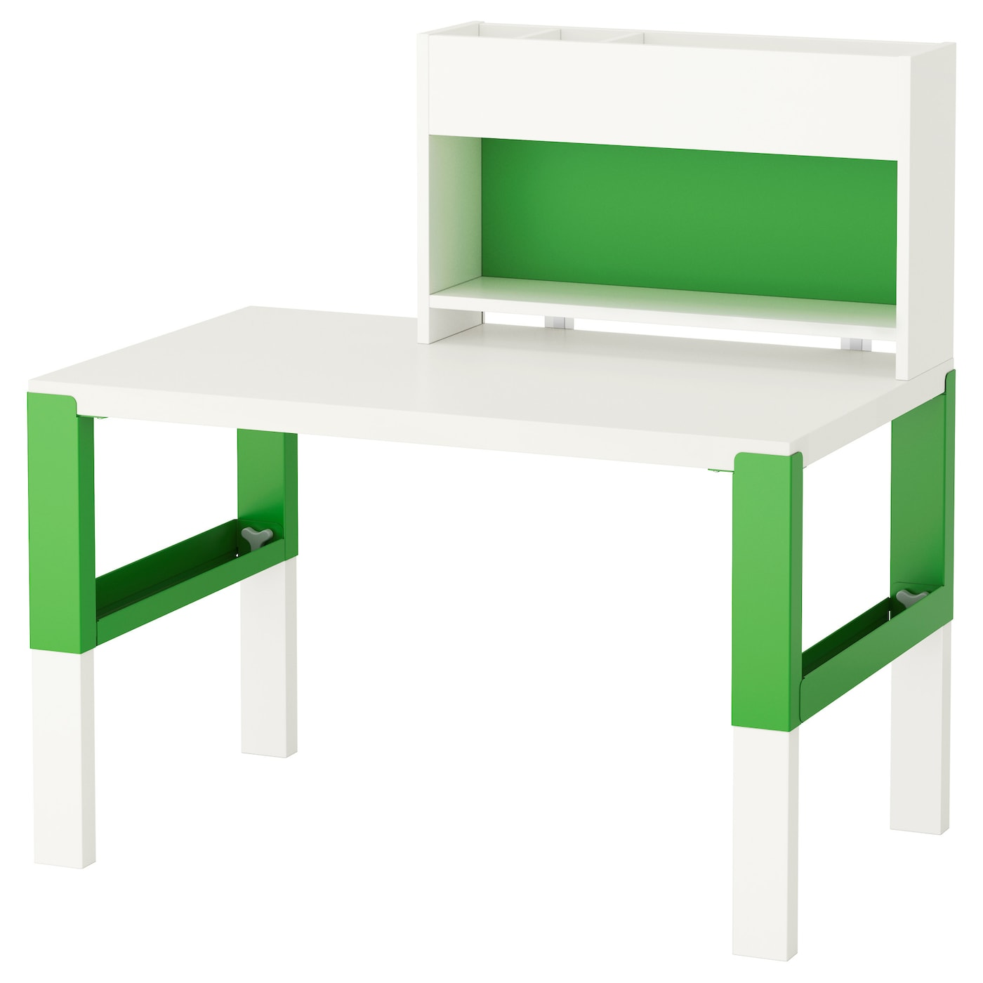 PÅHL white, green, Desk, 96x58 cm IKEA