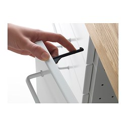patrull drawer cabinet catch black ikea. Black Bedroom Furniture Sets. Home Design Ideas