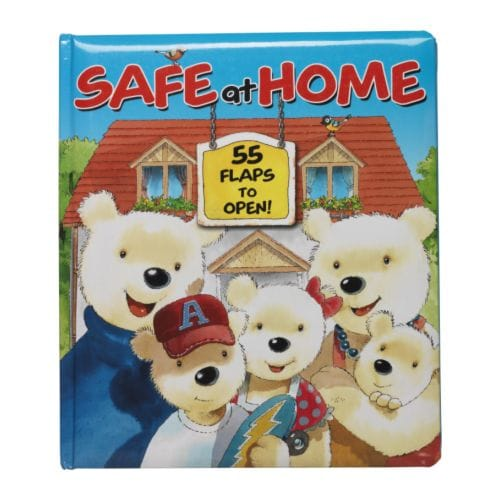 PATRULL - SAFE AT HOME Book IKEA Pay a visit to big sister and big brother Bear and find out what they know about safety.