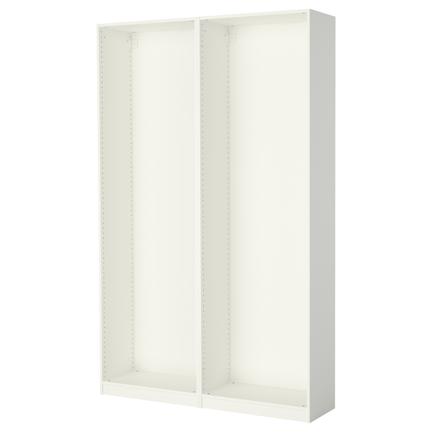 pax 2 wardrobe frames white 150x35x236 cm ikea. Black Bedroom Furniture Sets. Home Design Ideas