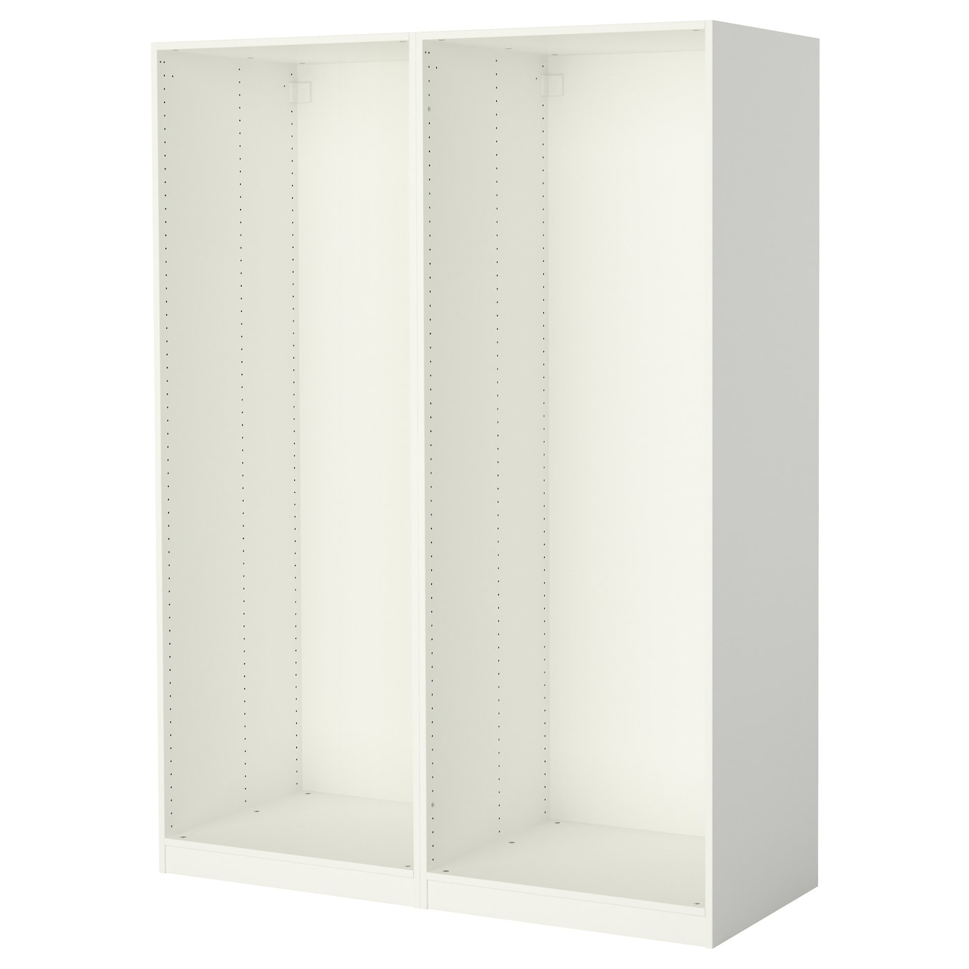 IKEA PAX 2 wardrobe frames 10 year guarantee. Read about the terms in the guarantee brochure.