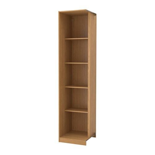 pax add on corner unit with 4 shelves oak effect 53 x 58 x 236 cm ikea rh ikea com corner unit bookshelves kitchen wall unit corner shelves