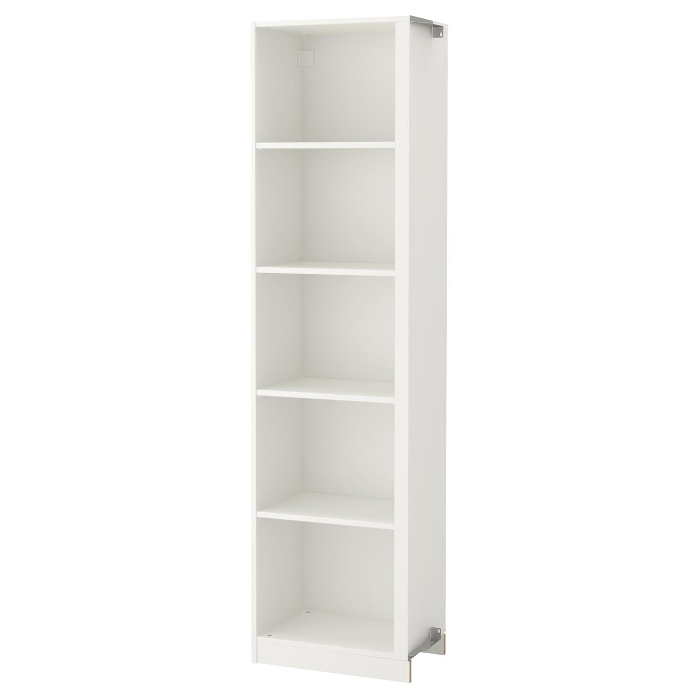 pax add on corner unit with 4 shelves white 53x35x201 cm