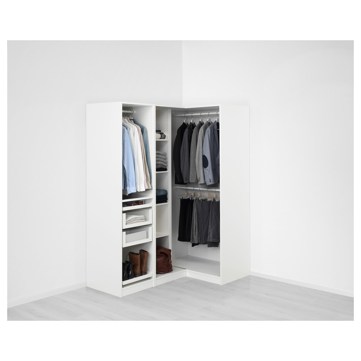 Delicieux IKEA PAX Corner Wardrobe 10 Year Guarantee. Read About The Terms In The  Guarantee Brochure
