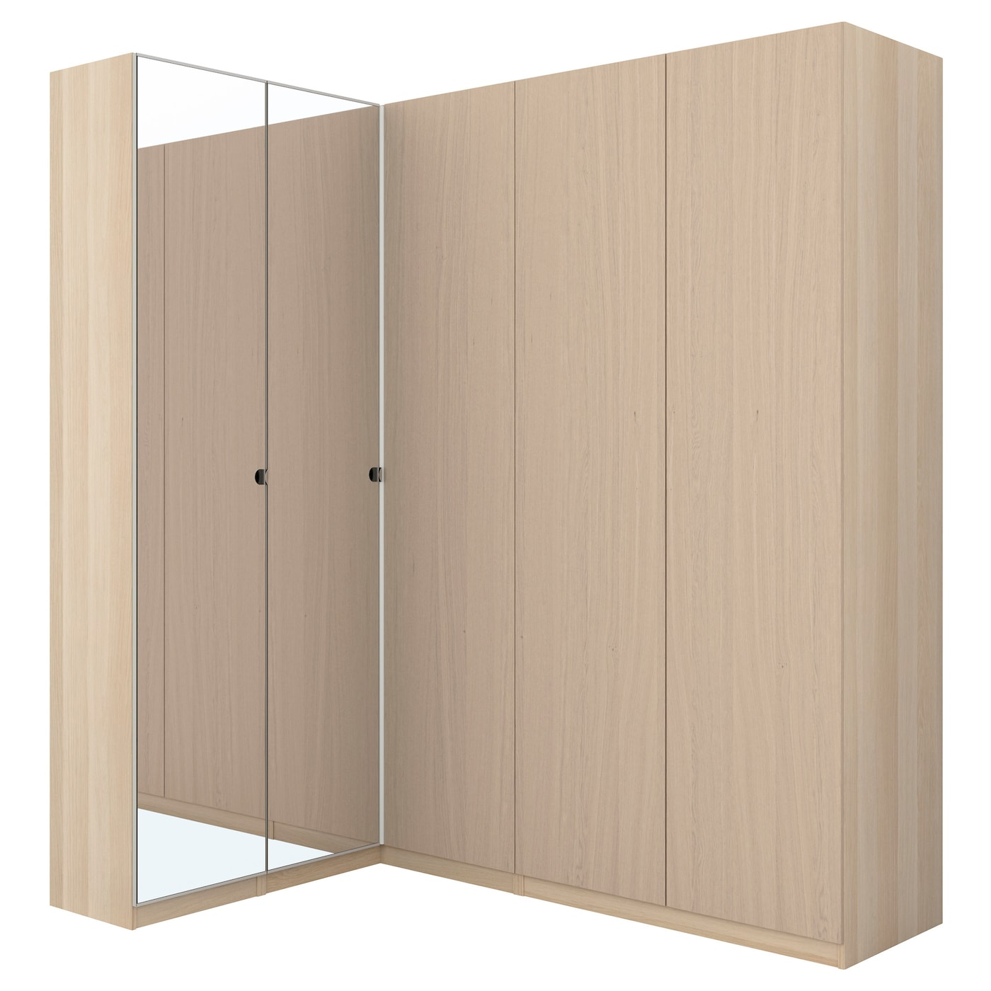 IKEA PAX corner wardrobe 10 year guarantee. Read about the terms in the guarantee brochure.
