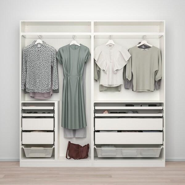 PAX AULI Wardrobe combination, white