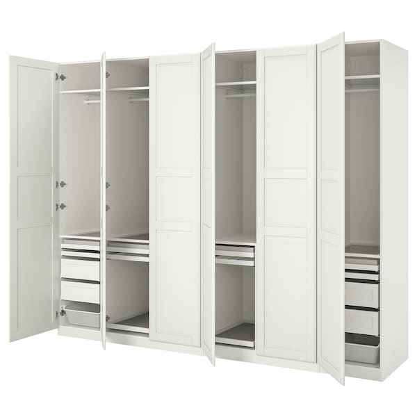 PAX / TYSSEDAL wardrobe combination white/white 300.0 cm 60.0 cm 236.4 cm