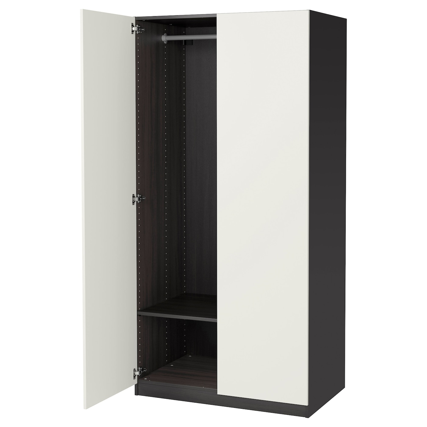 black furniture ikea. IKEA PAX Wardrobe 10 Year Guarantee Read About The Terms In Brochure Black Furniture Ikea