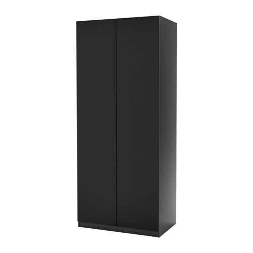 pax wardrobe black brown nexus black brown 100x60x201 cm ikea. Black Bedroom Furniture Sets. Home Design Ideas