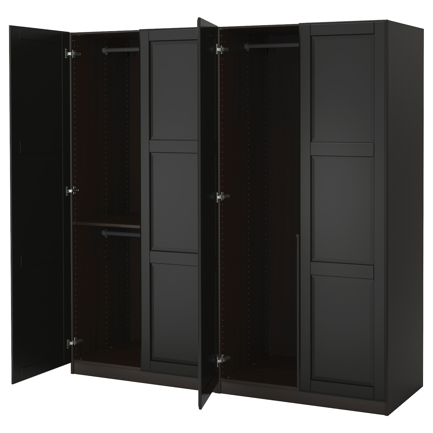Wardrobe Combinations With Doors Ikea # Ikea Meuble Bas Tv