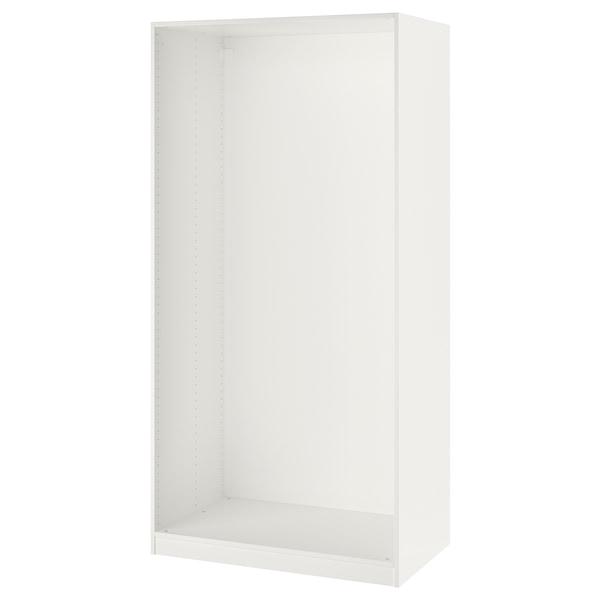 PAX wardrobe frame white 99.8 cm 100 cm 58.0 cm 201.2 cm 58 cm 201 cm