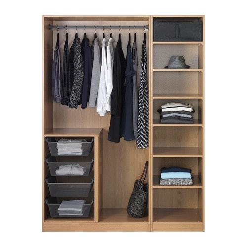 pax wardrobe oak effect nexus vikedal 150x60x201 cm ikea. Black Bedroom Furniture Sets. Home Design Ideas