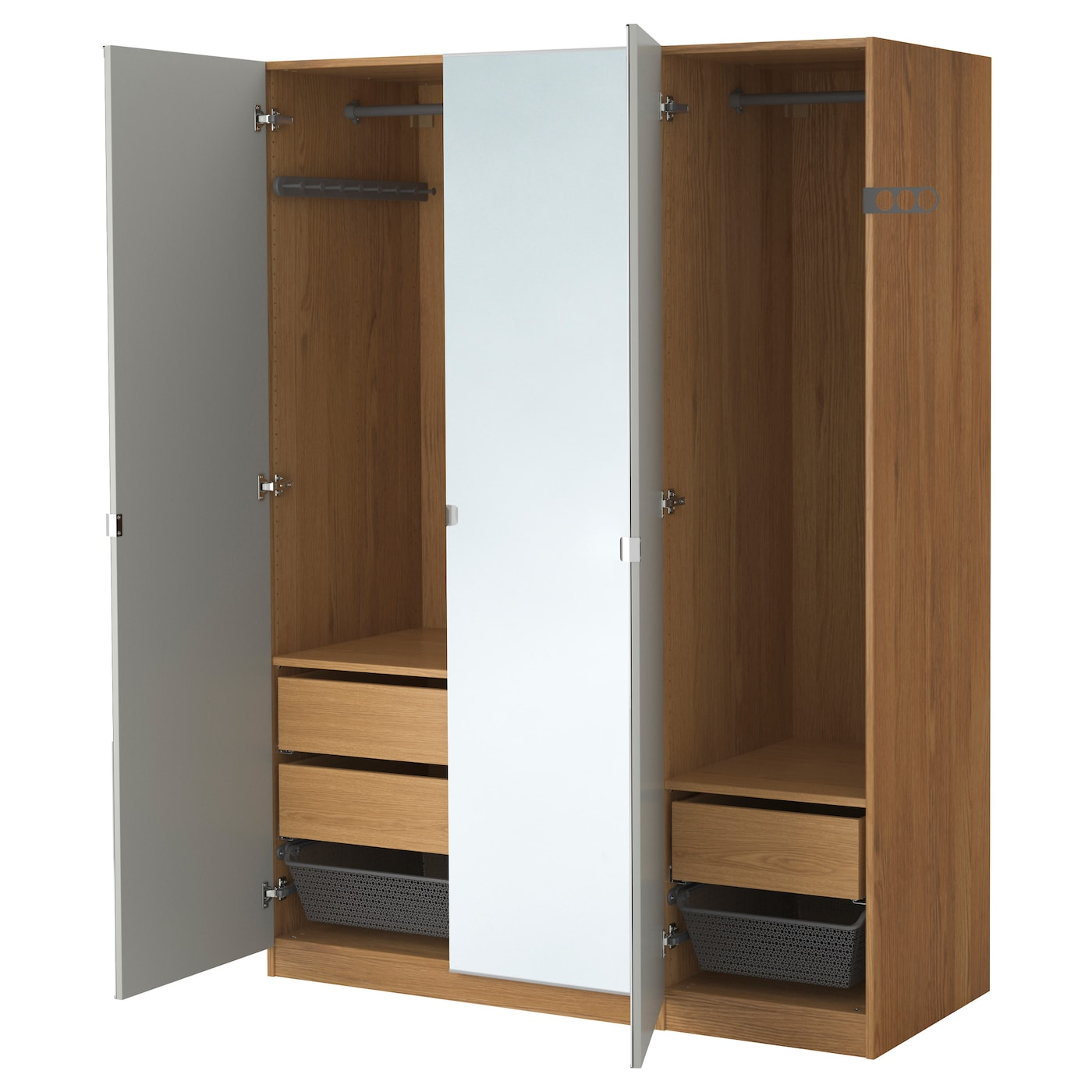 hinged en system wardrobe ikea pax interiors bedroom door wardrobes with