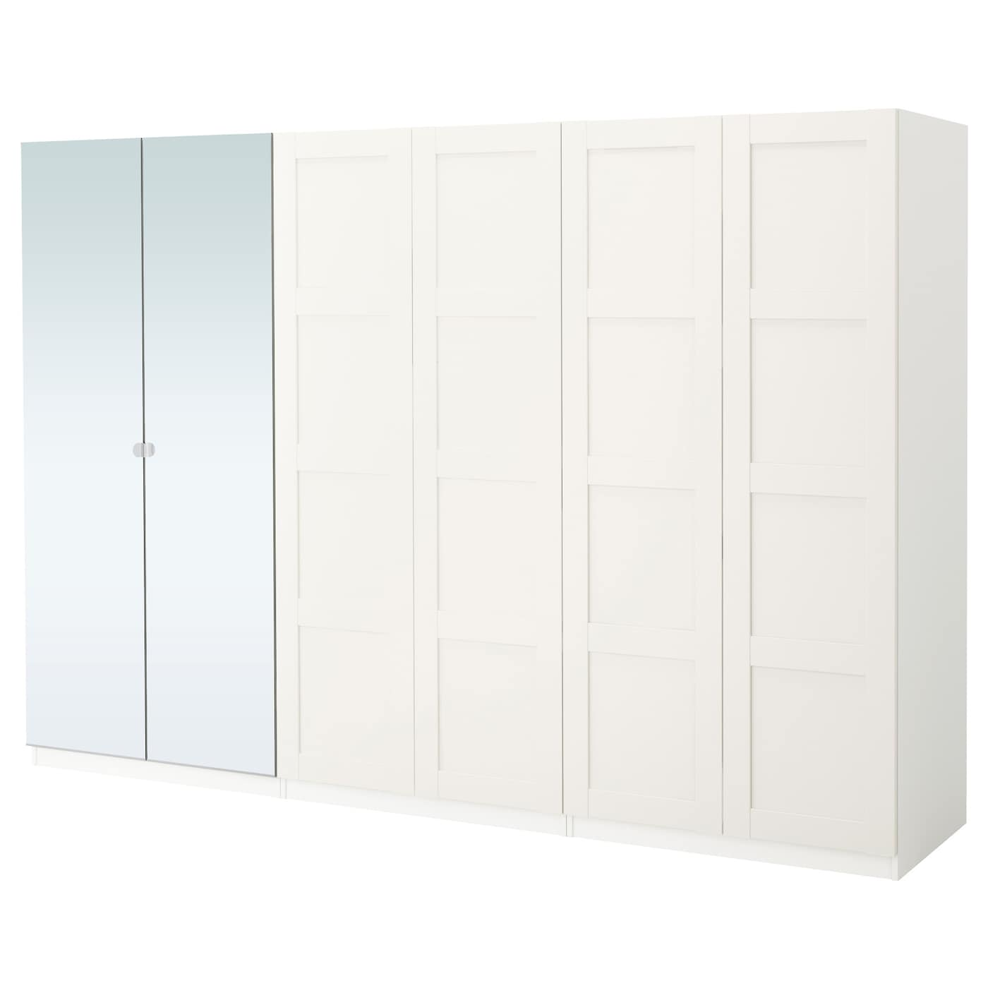 pax wardrobe white bergsbo vikedal 300 x 60 x 201 cm ikea. Black Bedroom Furniture Sets. Home Design Ideas
