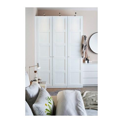 Pax wardrobe white bergsbo white 150x60x236 cm ikea for Armarios ikea