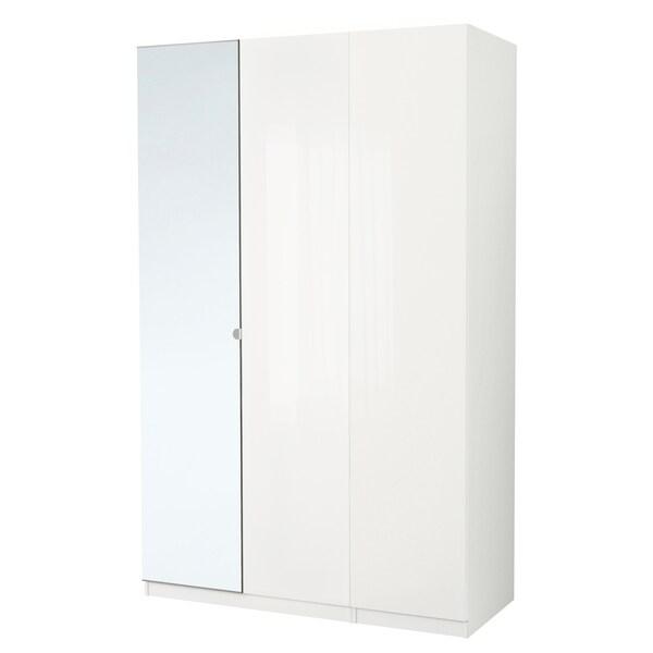 PAX Wardrobe, white/Fardal Vikedal, 150x60x236 cm