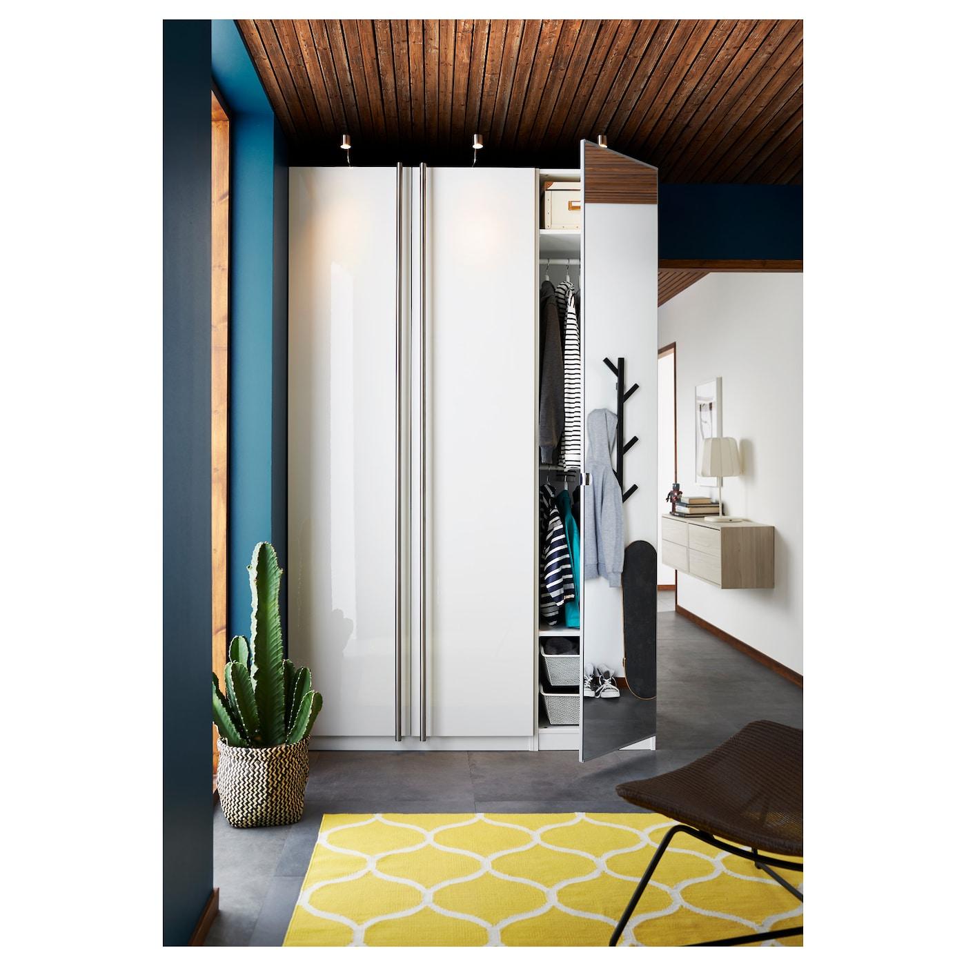 Pax Wardrobe White Fardal Vikedal 150 X 60 X 236 Cm Ikea