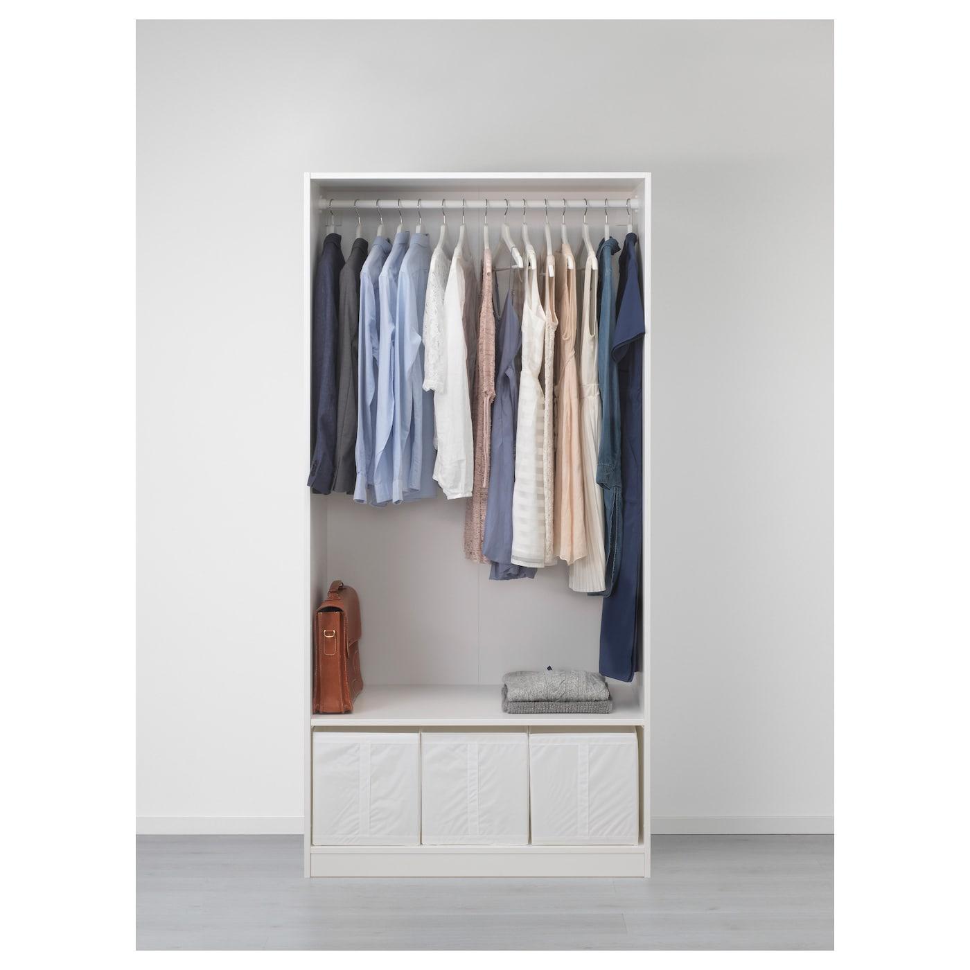pax wardrobe white flisberget light beige 100x60x201 cm ikea. Black Bedroom Furniture Sets. Home Design Ideas