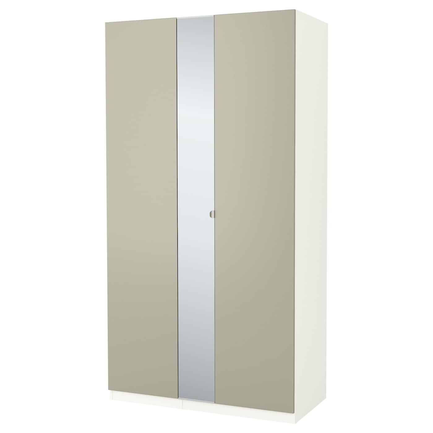 Pax Wardrobe White Forsand Vikedal 125 X 60 X 236 Cm Ikea
