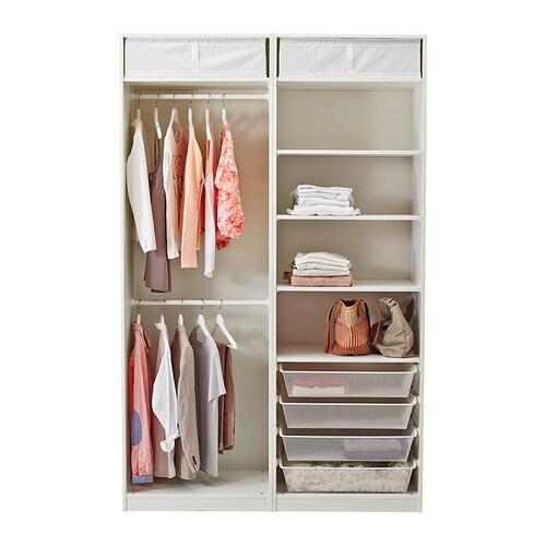 pax wardrobe white hasvik white 150x66x236 cm ikea. Black Bedroom Furniture Sets. Home Design Ideas