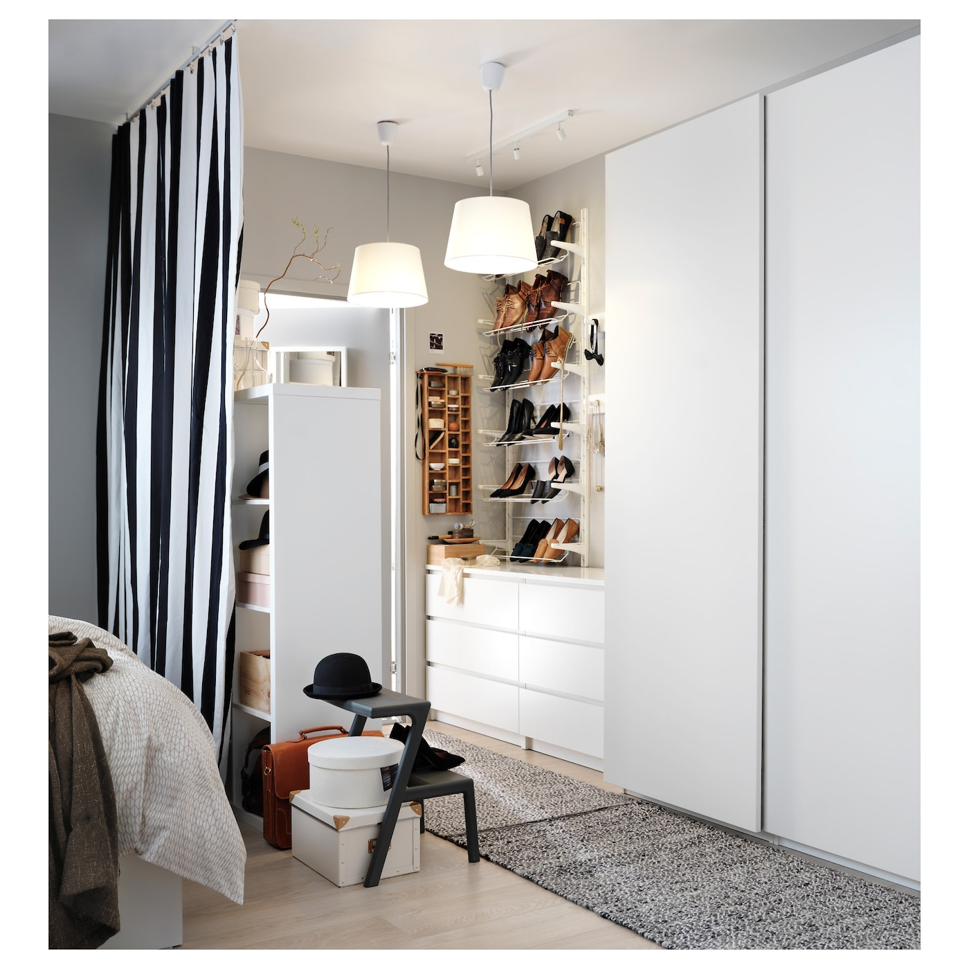 pax wardrobe white hasvik white 200x66x236 cm ikea. Black Bedroom Furniture Sets. Home Design Ideas