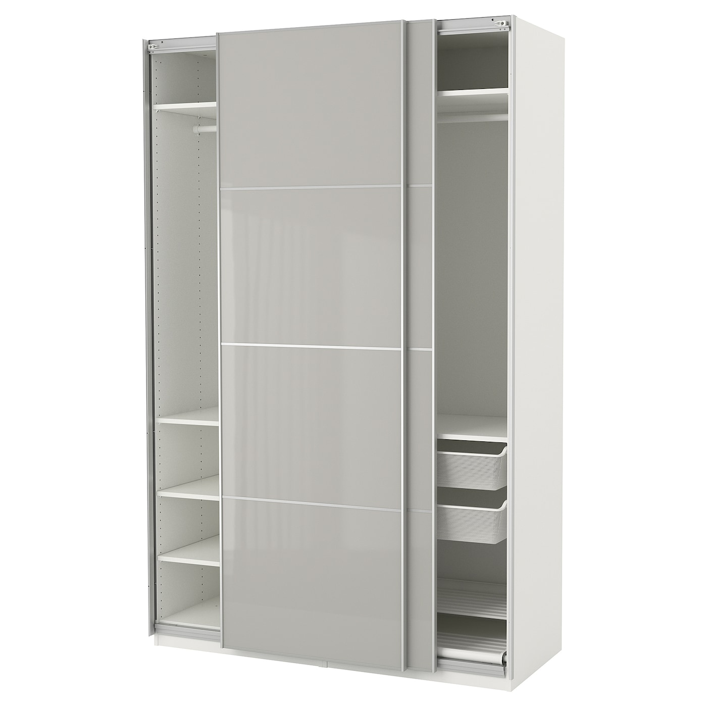 Armoire pax 28 images pax armoire penderie blanc for Miroir eclairant ikea