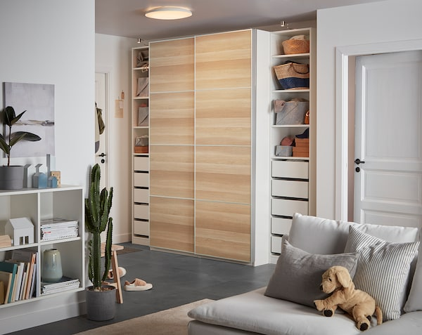 Ikea PAX wardrobe sliding doors. | in
