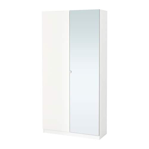 pax wardrobe white tanem vikedal 100x38x201 cm ikea. Black Bedroom Furniture Sets. Home Design Ideas