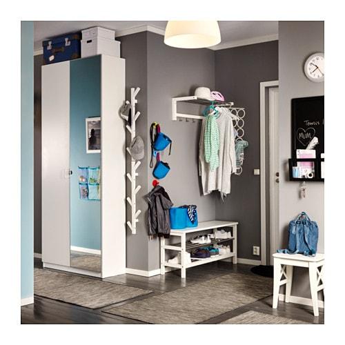 PAX Wardrobe Whitetanem Vikedal Xx Cm IKEA - Ikea wardrobe