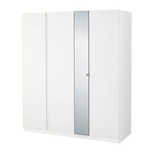 pax wardrobe white vikanes vikedal 175x60x201 cm ikea. Black Bedroom Furniture Sets. Home Design Ideas