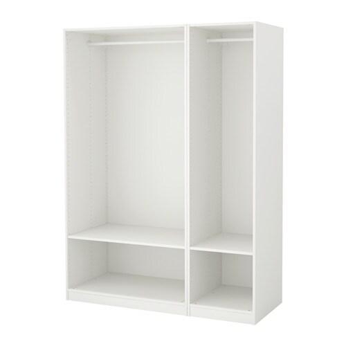 Pax wardrobe white 150x58x201 cm ikea - Armarios de esquina ikea ...
